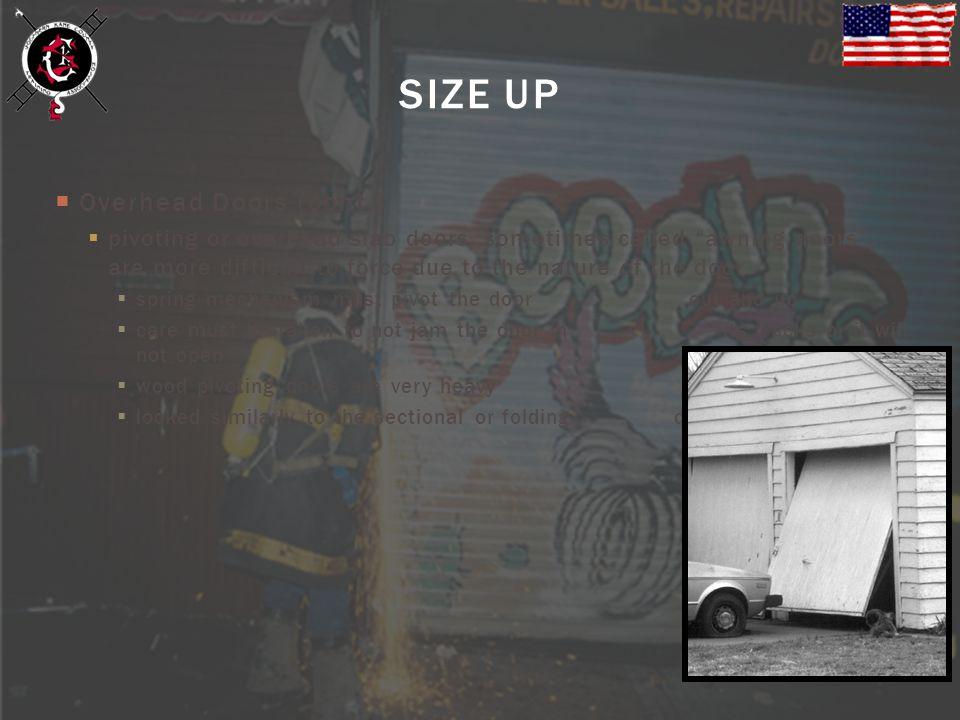 SIZE UP Overhead Doors (cont.)