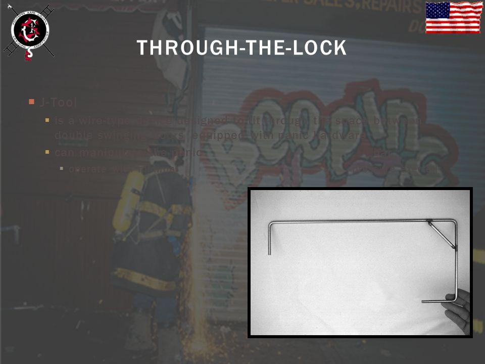 THROUGH-THE-LOCK J-Tool