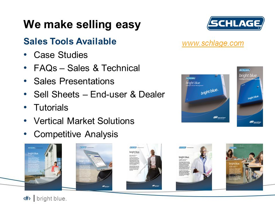 We make selling easy Sales Tools Available Case Studies