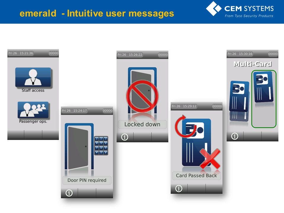 emerald - Intuitive user messages