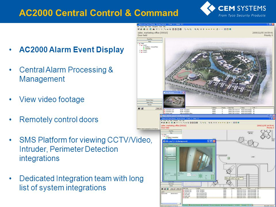AC2000 Central Control & Command