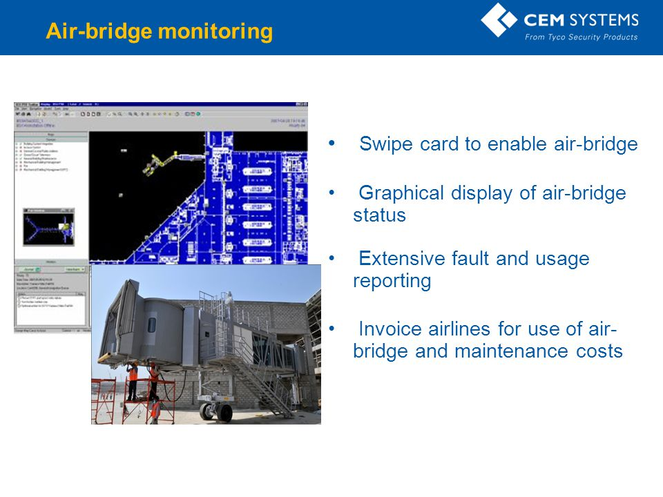Air-bridge monitoring