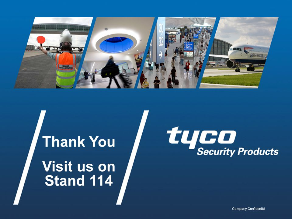 Thank You Visit us on Stand 114