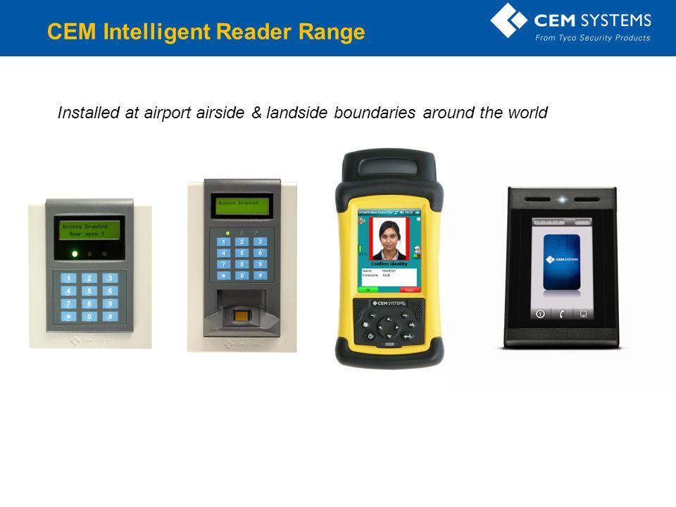 CEM Intelligent Reader Range