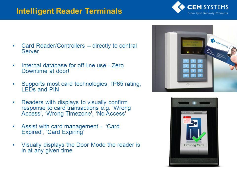 Intelligent Reader Terminals