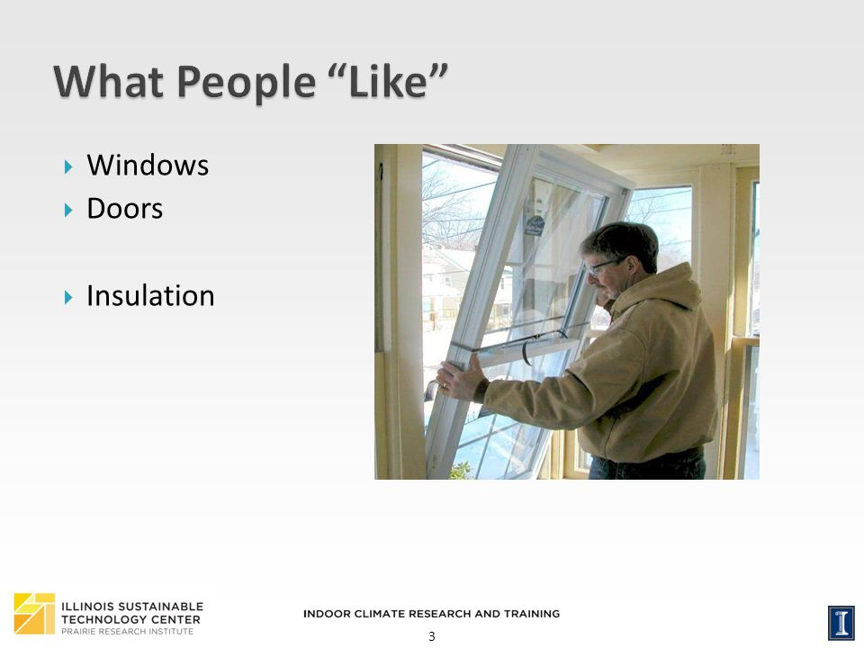 What People Like Windows Doors Insulation