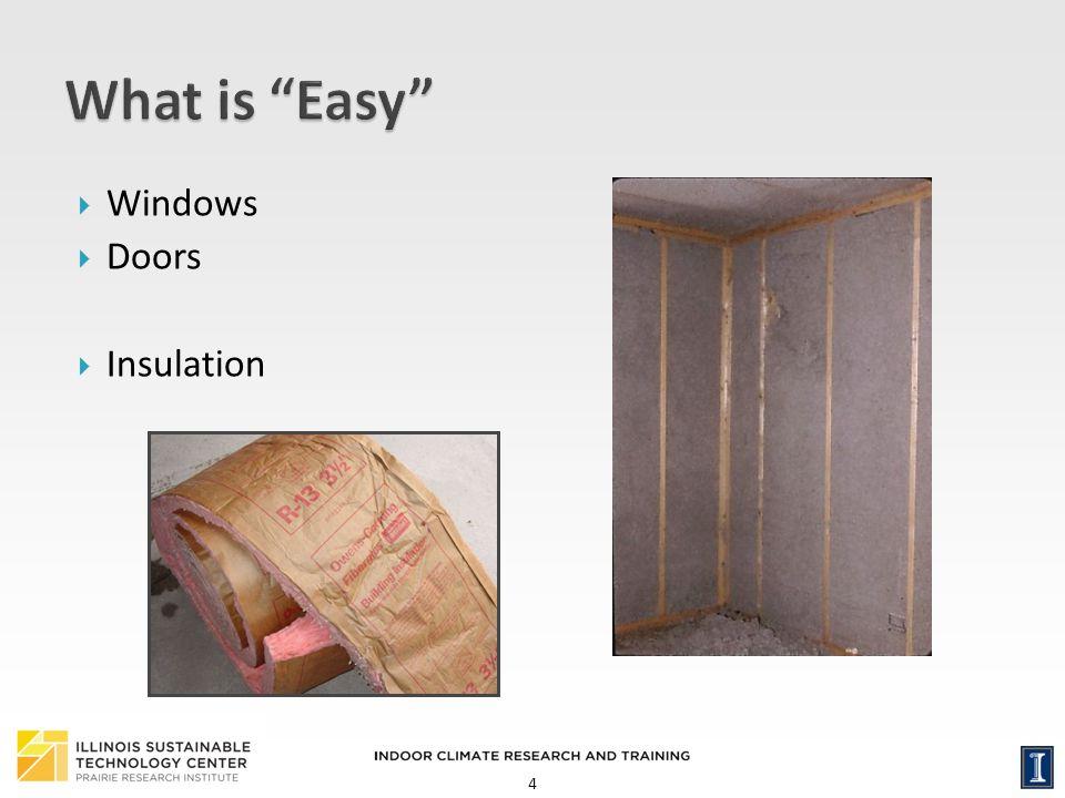 What is Easy Windows Doors Insulation