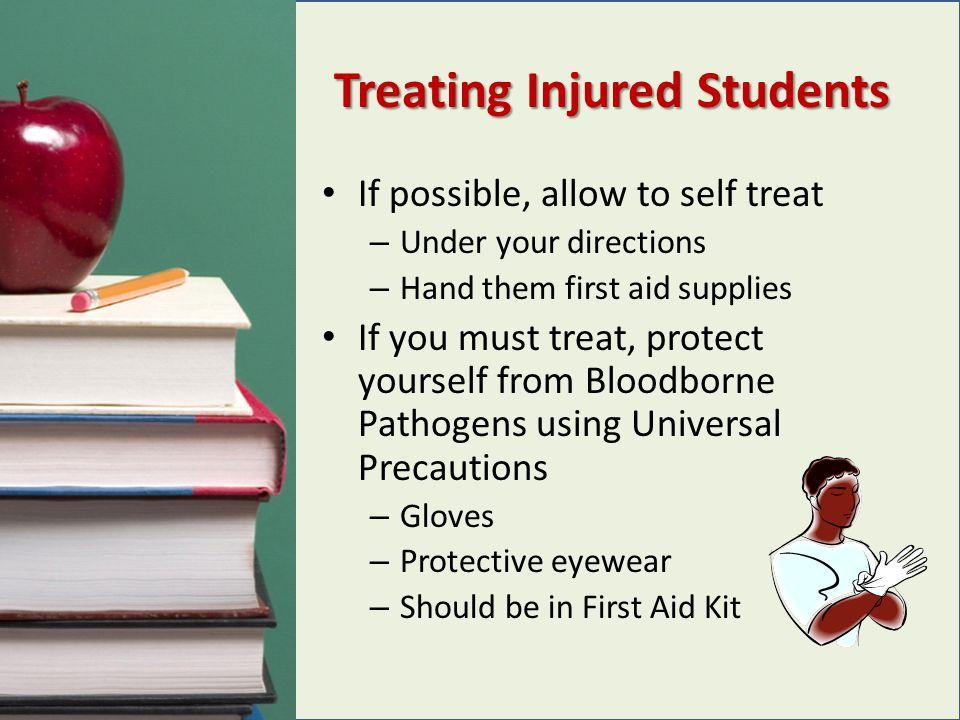 Treating Injured Students