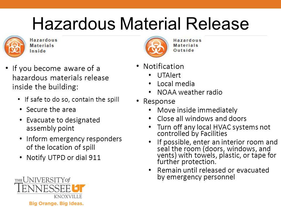 Hazardous Material Release
