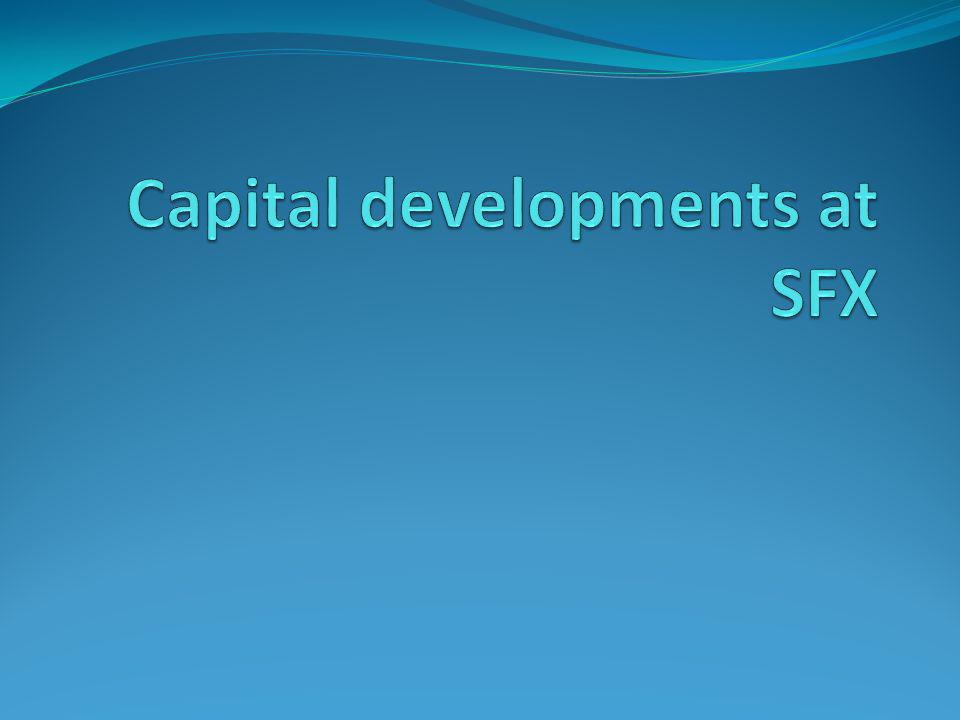 Capital developments at SFX