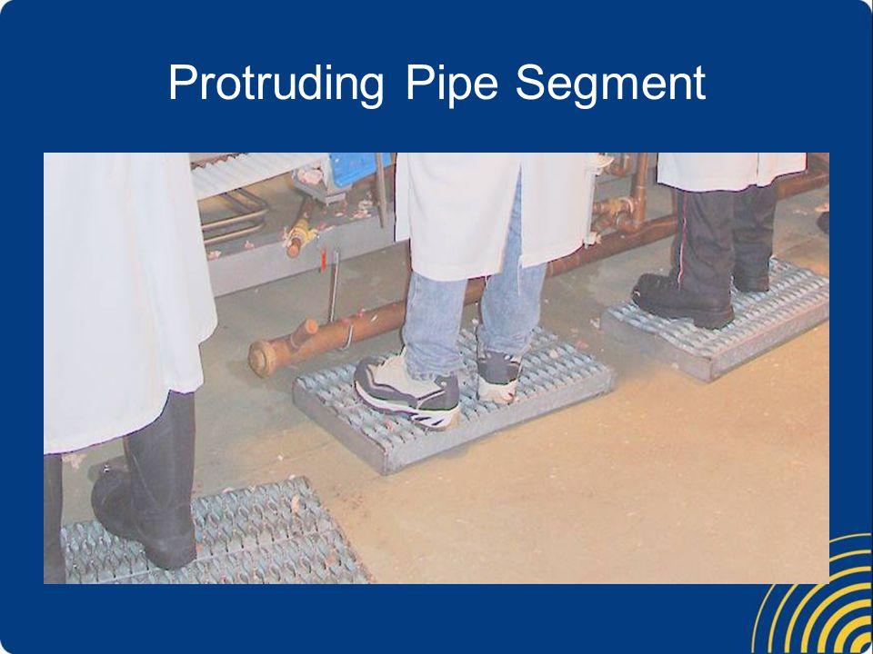 Protruding Pipe Segment
