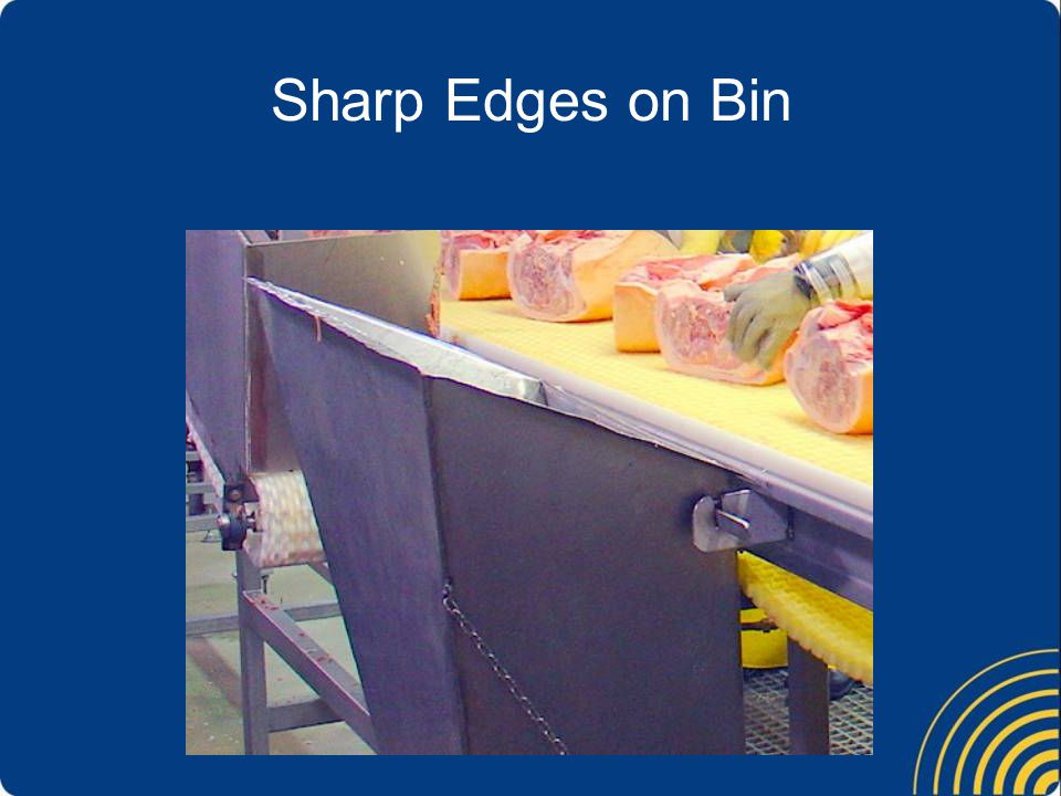 Sharp Edges on Bin