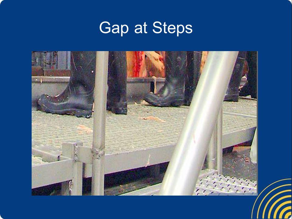 Gap at Steps
