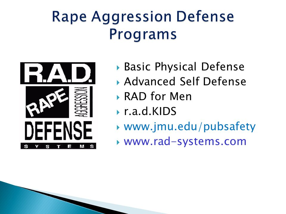 Rape Aggression Defense Programs