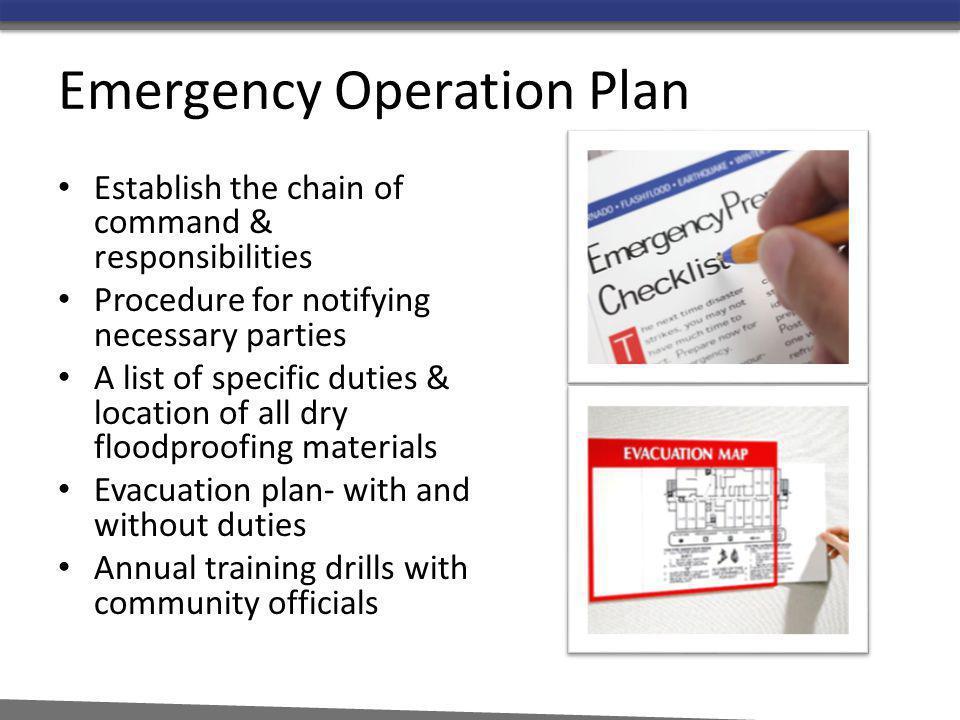 Emergency Operation Plan