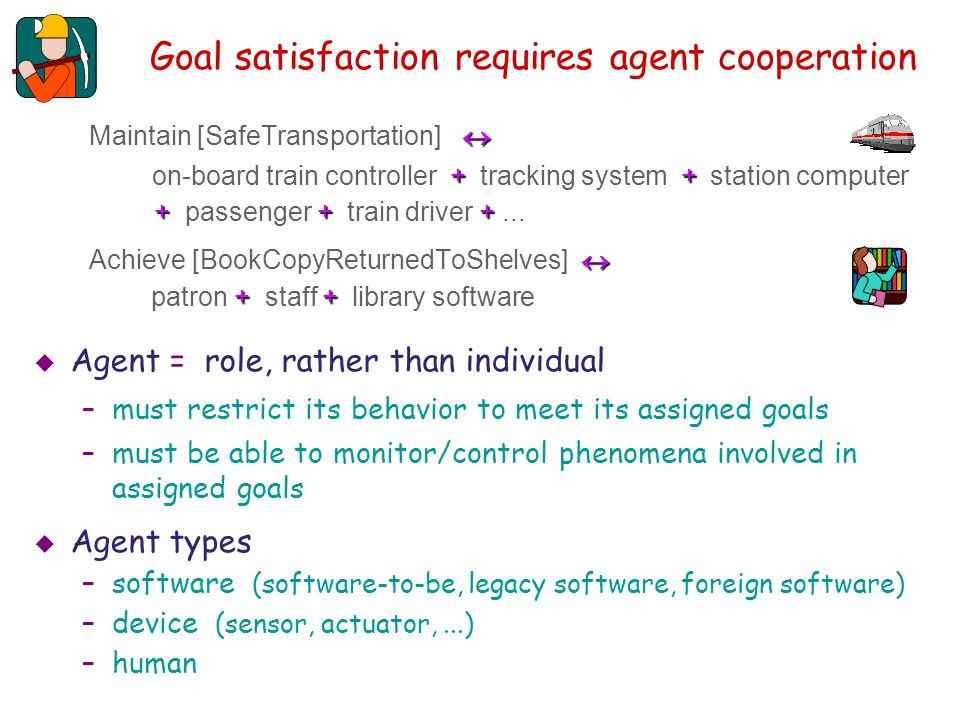 Goal satisfaction requires agent cooperation