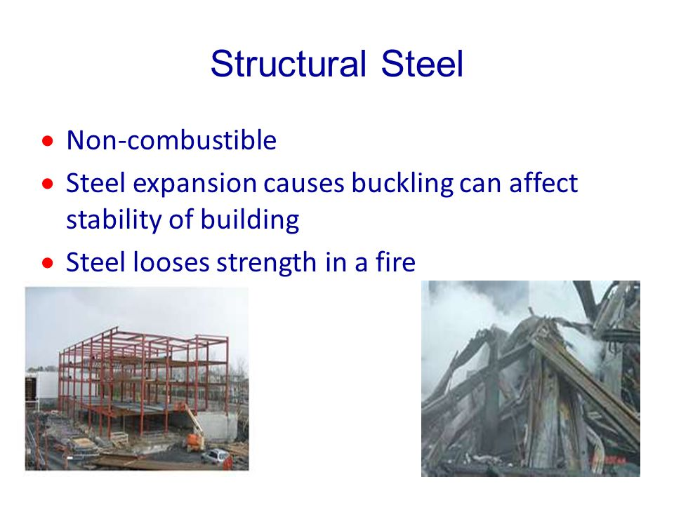Structural Steel Non-combustible