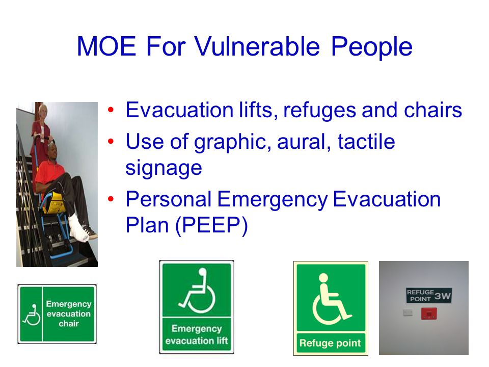 MOE For Vulnerable People