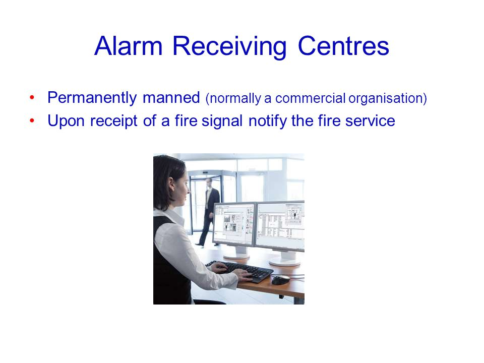 Alarm Receiving Centres