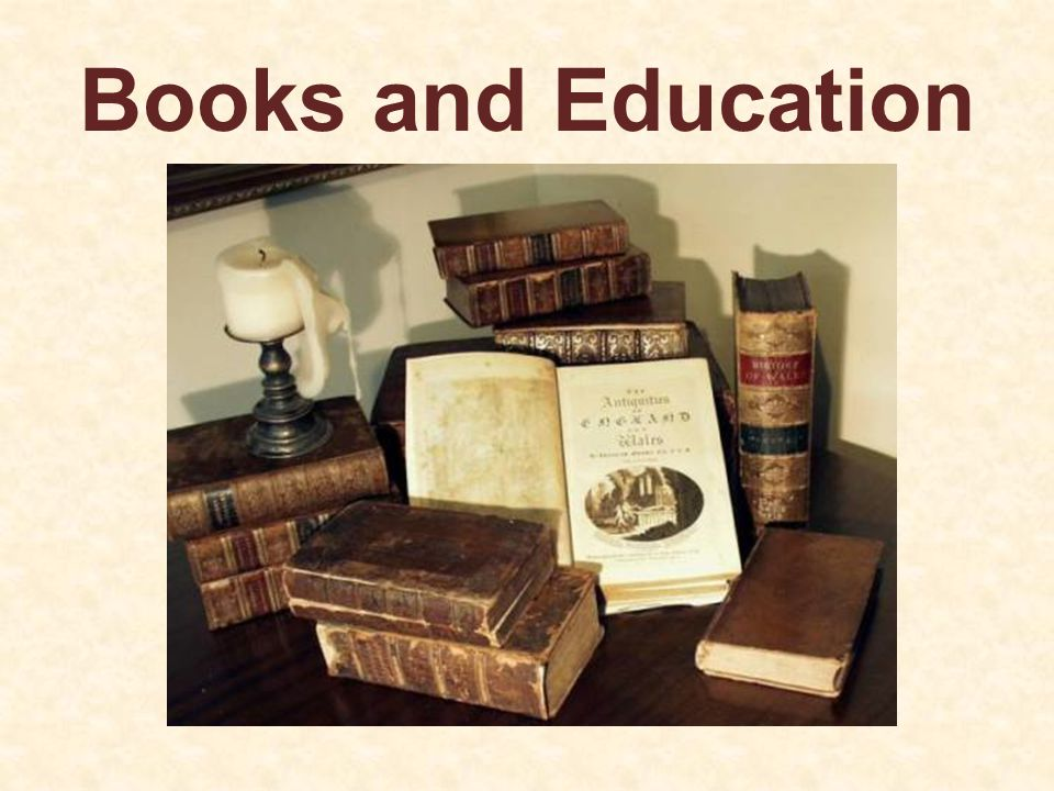 Books and Education