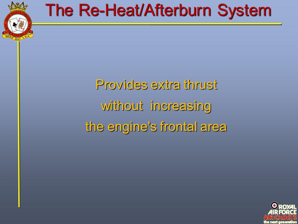 The Re-Heat/Afterburn System