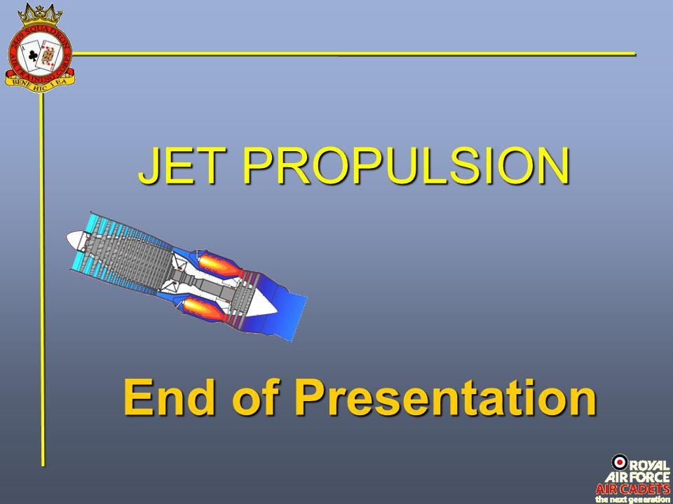 JET PROPULSION End of Presentation