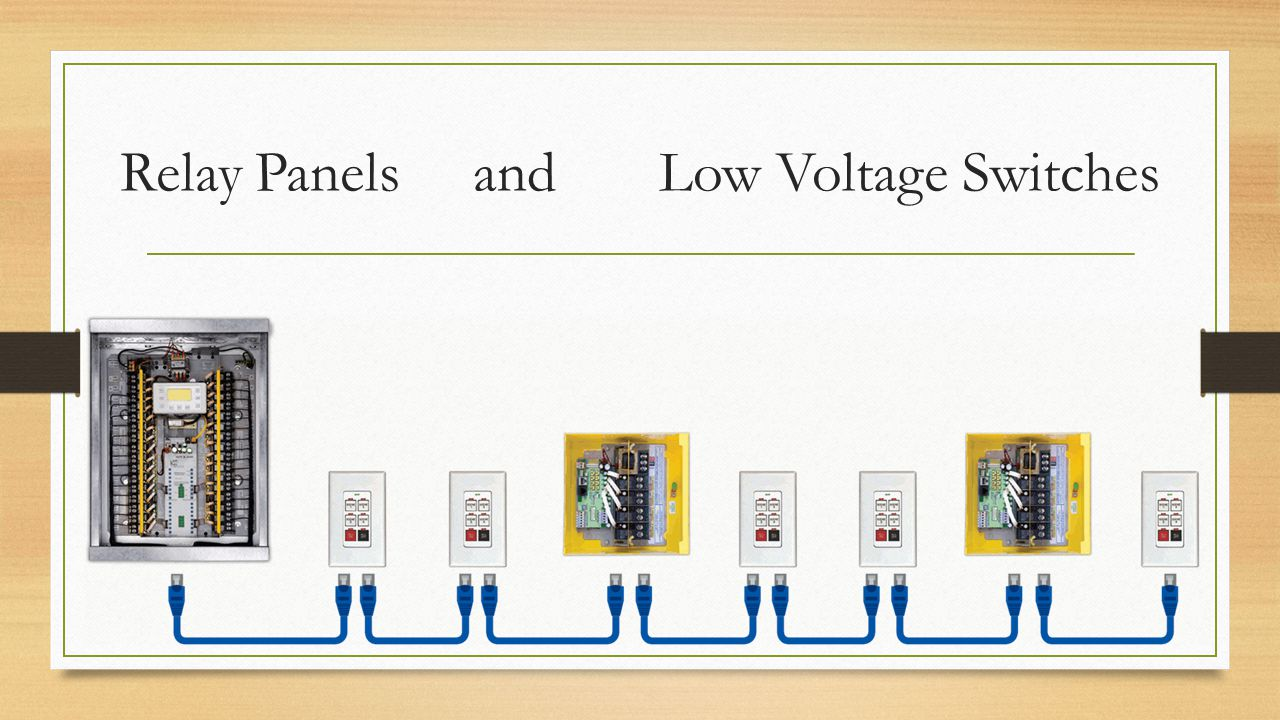 Relay Panels and Low Voltage Switches