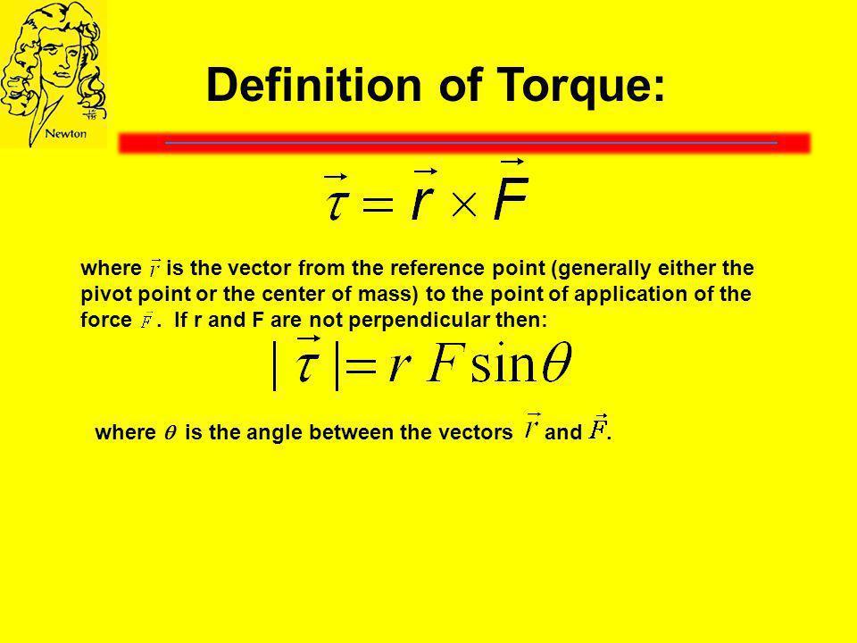 Definition of Torque: