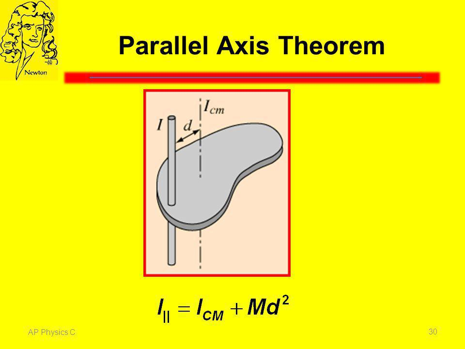Parallel Axis Theorem AP Physics C