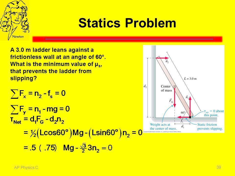 Statics Problem