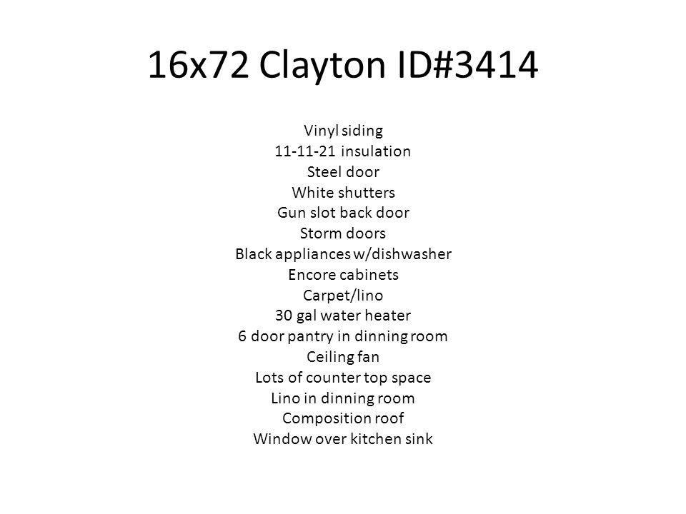 16x72 Clayton ID#3414