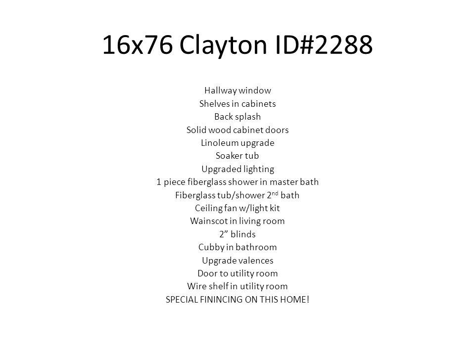 16x76 Clayton ID#2288