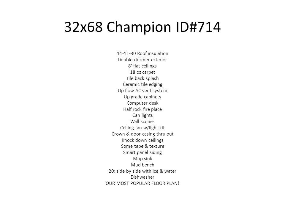 32x68 Champion ID#714