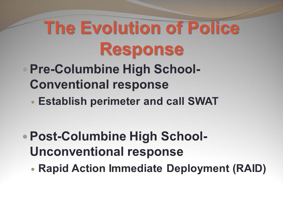 The Evolution of Police Response