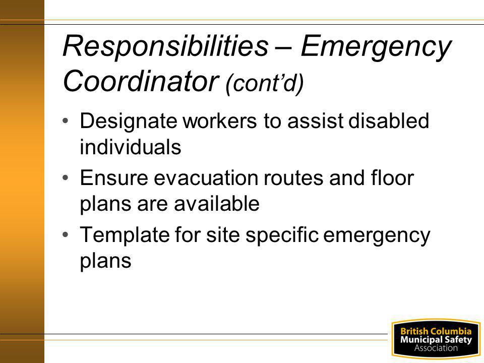emergency preparedness and response ppt download