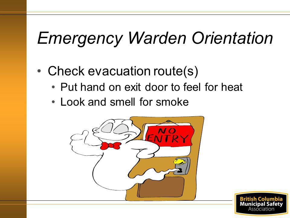 Emergency Warden Orientation
