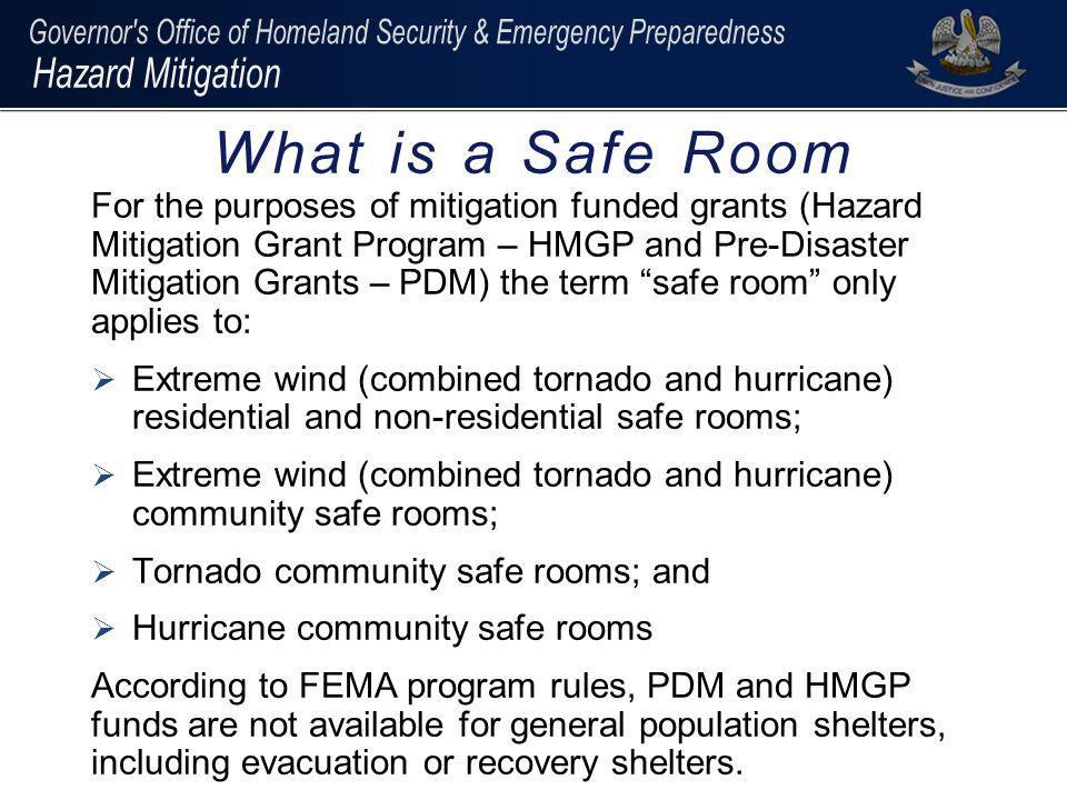 What is a Safe Room