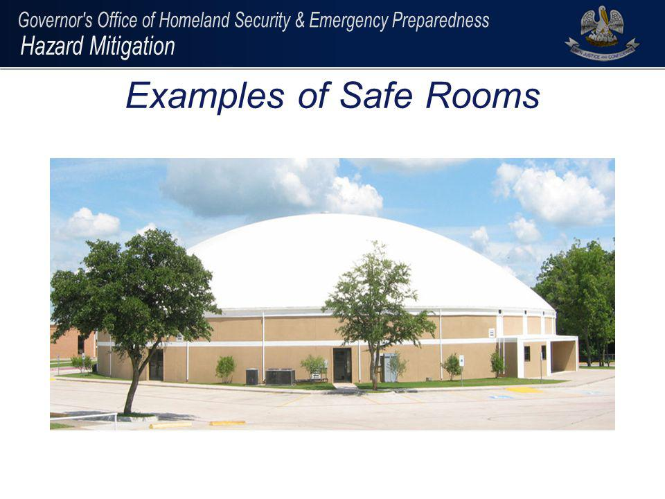 Examples of Safe Rooms