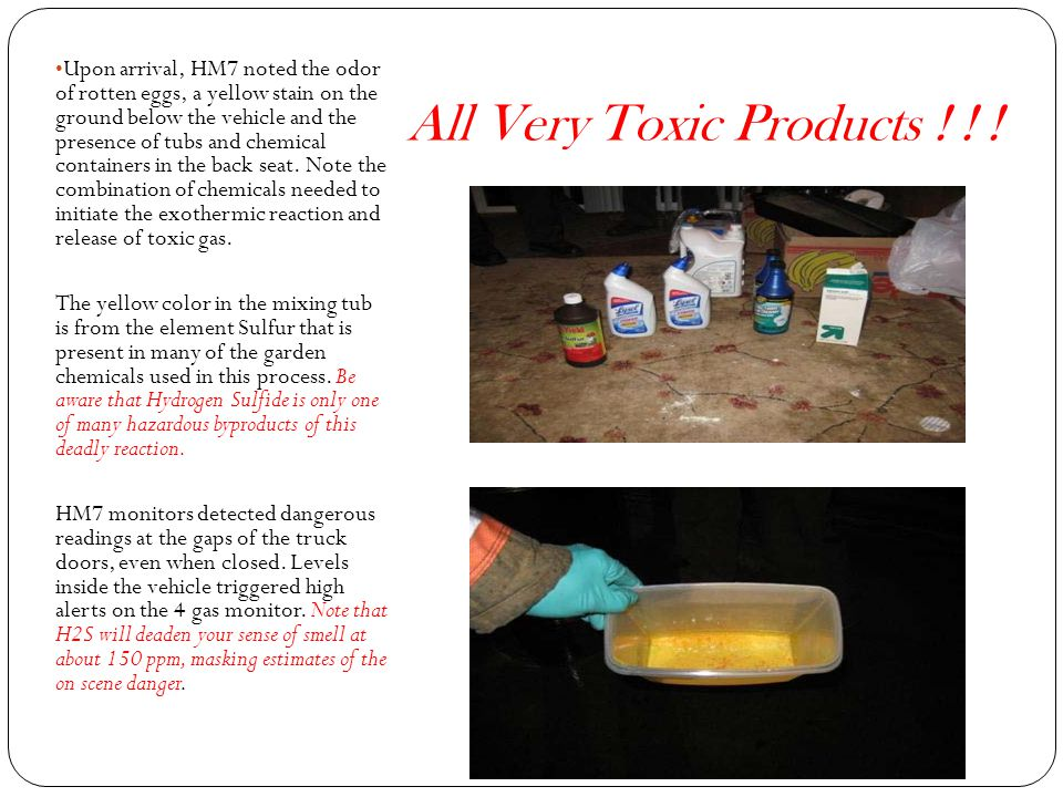 All Very Toxic Products ! ! !