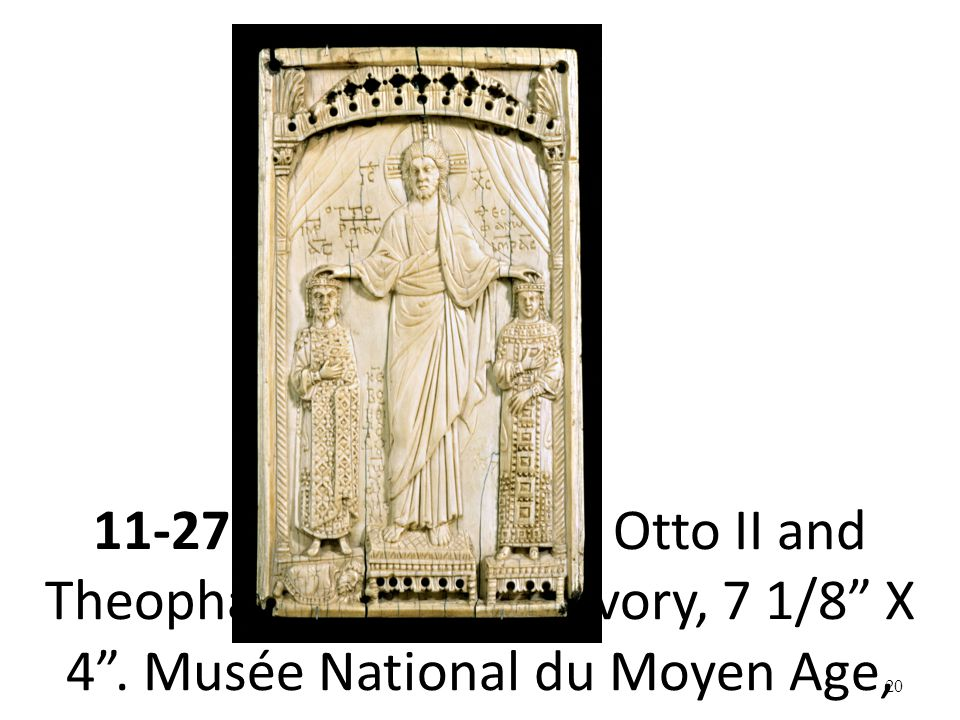 11-27 Christ blessing Otto II and Theophanu, 972–973