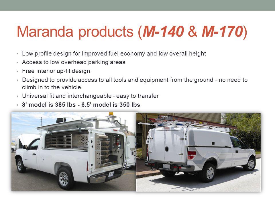 Maranda products (M-140 & M-170)