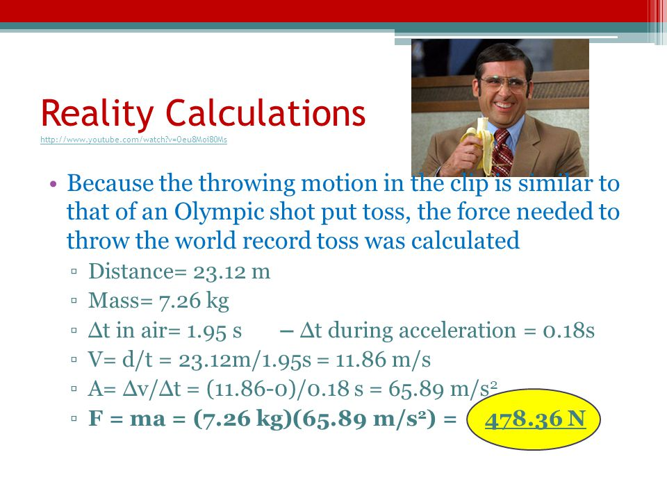 Reality Calculations http://www.youtube.com/watch v=Oeu8Moi80Ms