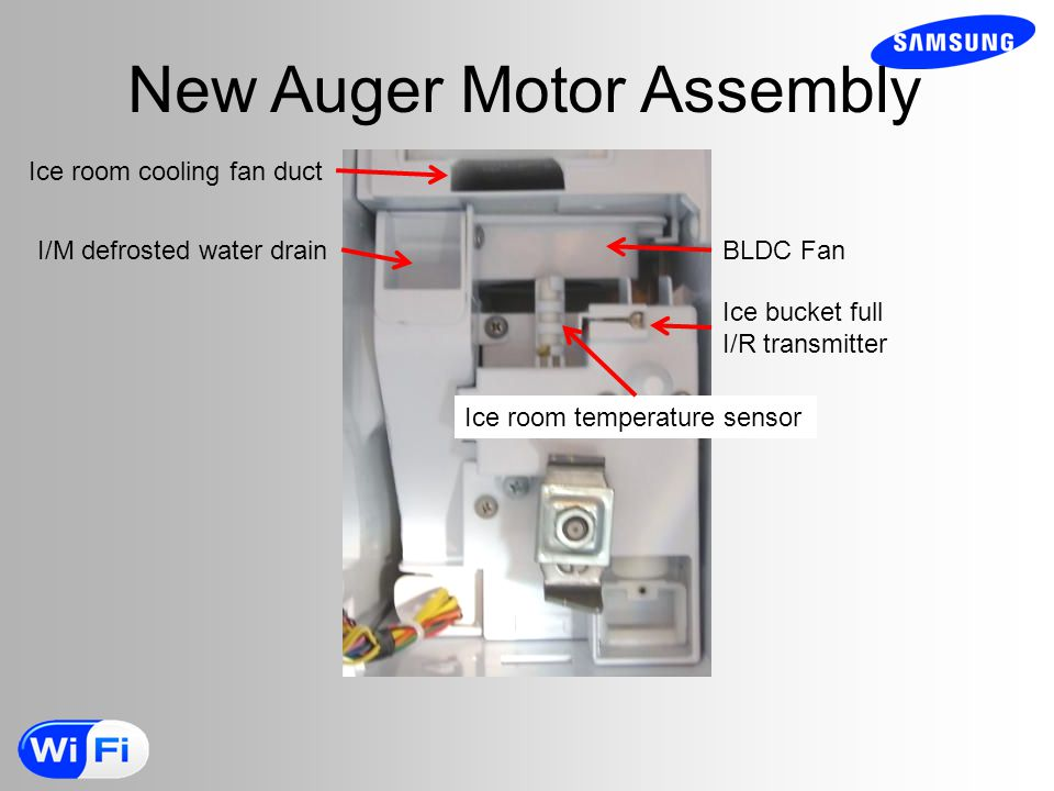 New Auger Motor Assembly