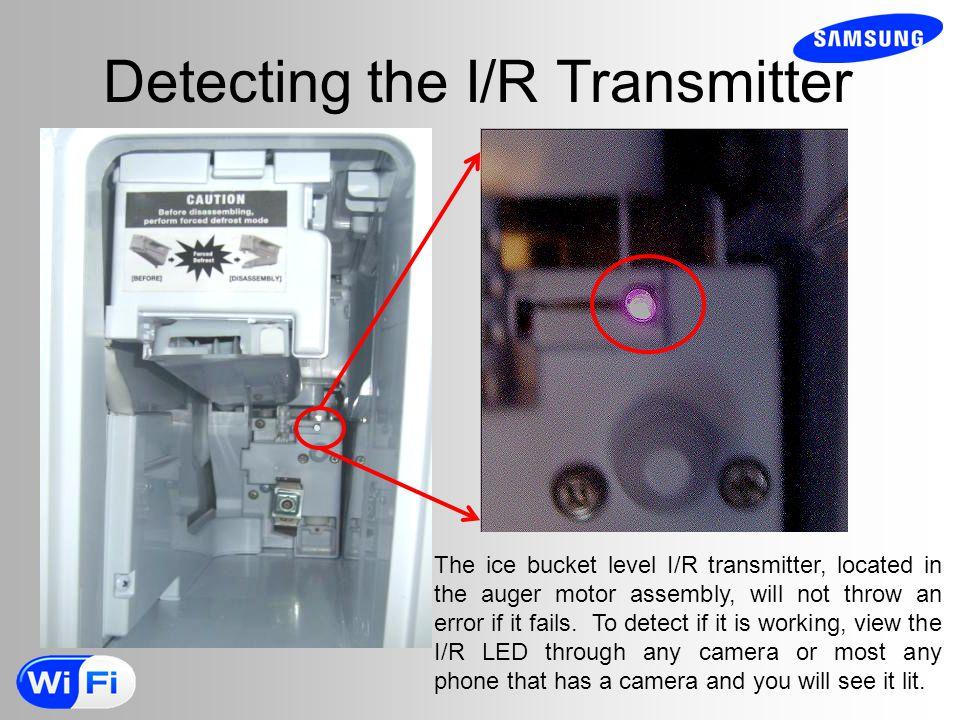 Detecting the I/R Transmitter