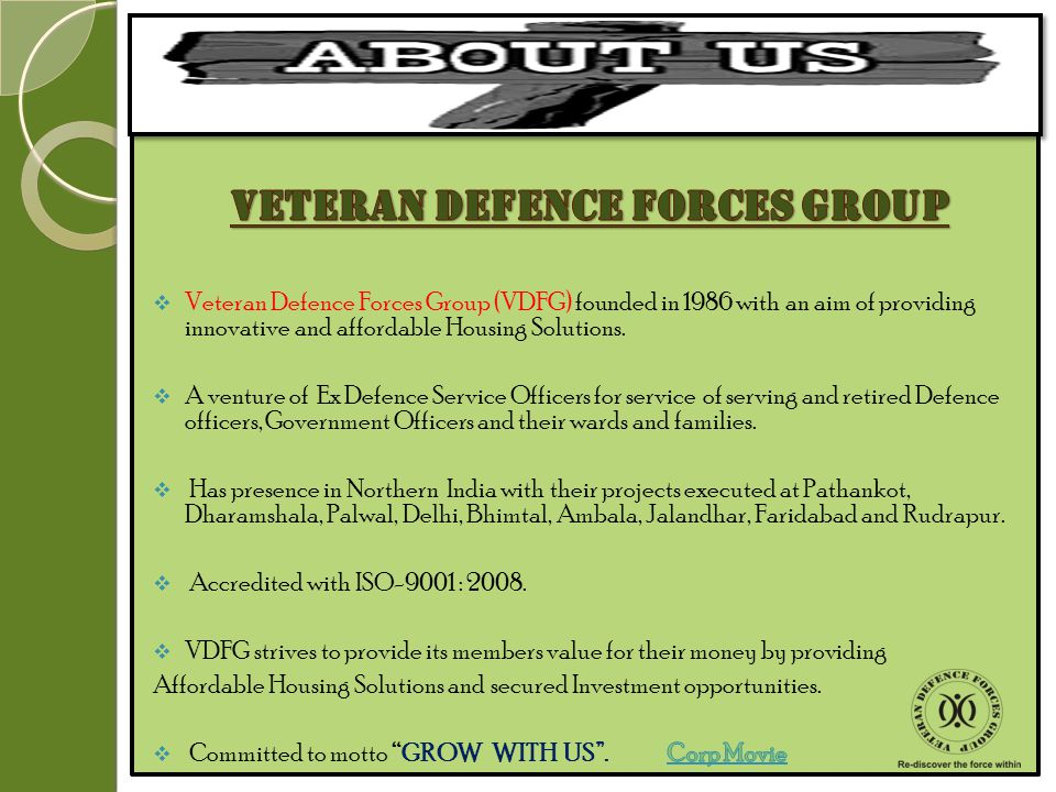 VETERAN DEFENCE FORCES GROUP