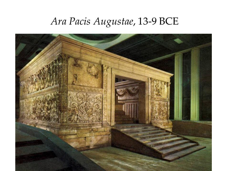 Ara Pacis Augustae, 13-9 BCE