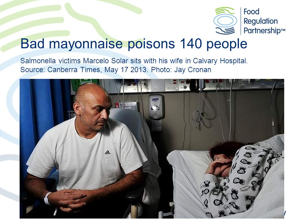 Bad mayonnaise poisons 140 people