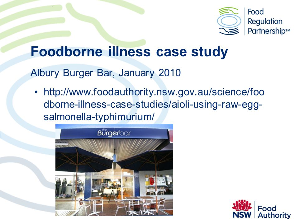 Foodborne illness case study