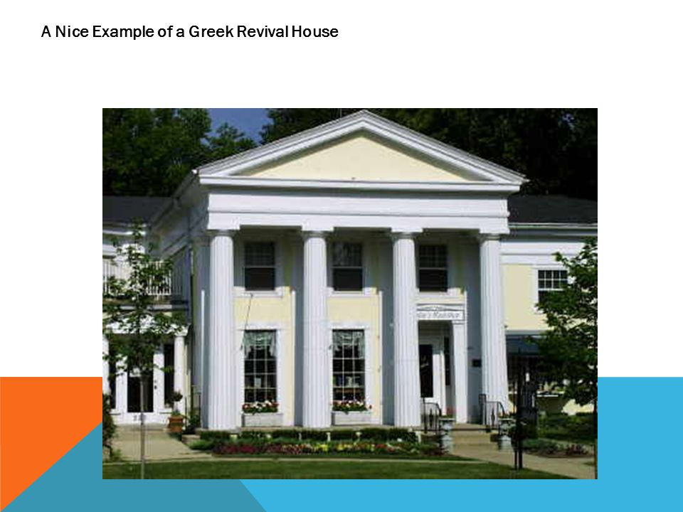 A Nice Example of a Greek Revival House