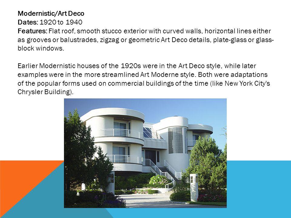 Modernistic/Art Deco